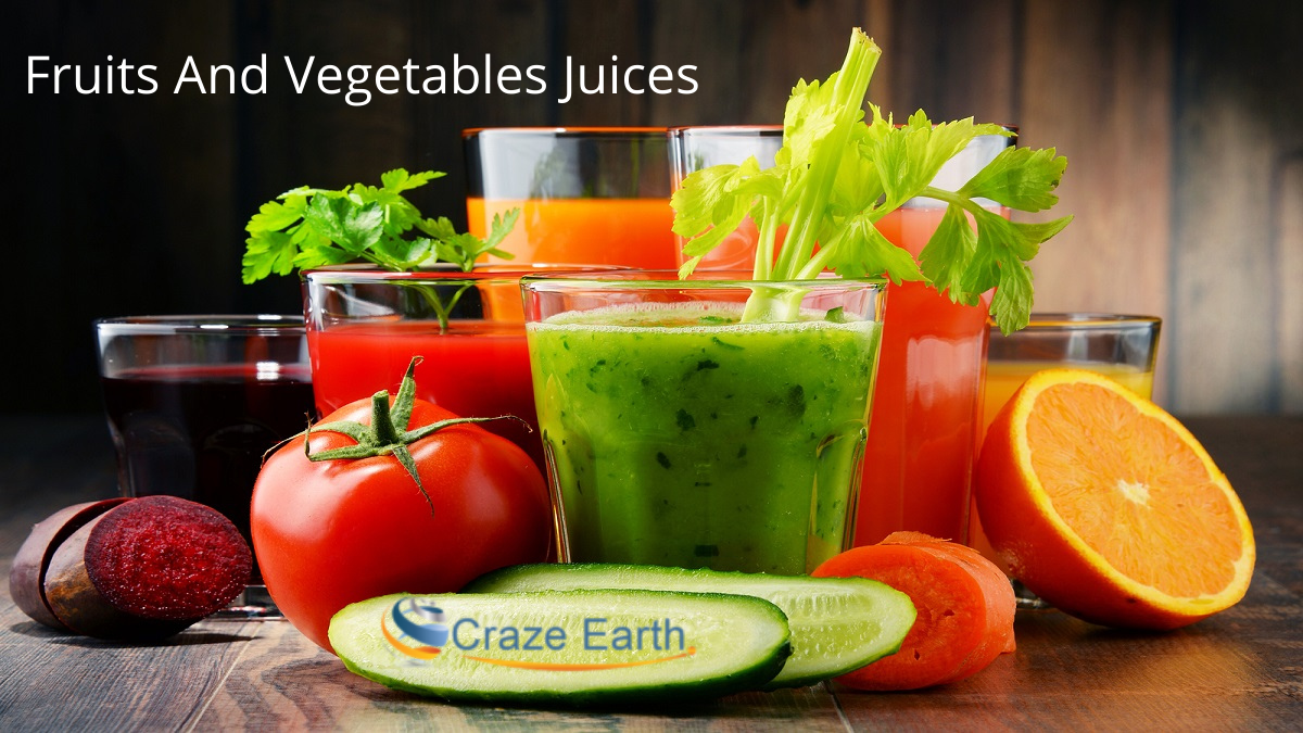 Why Should you use Fruits and Vegetable Juices as Your Healthy Diet?